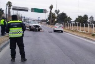 Accidente Vial en Avda. ExCombatientes