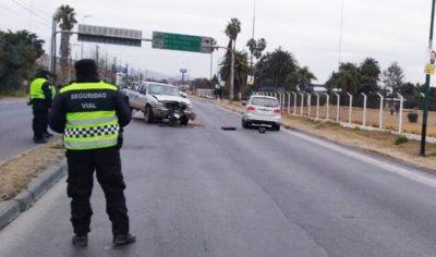 Accidente Vial en Avda. ExCombatientes