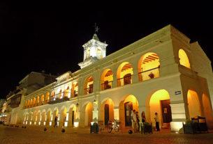 Cabildo de Salta, noche