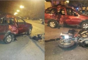 Accidente Av. Tavella