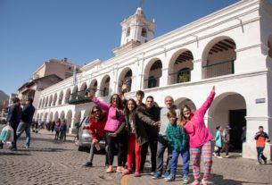 Turistas en Salta