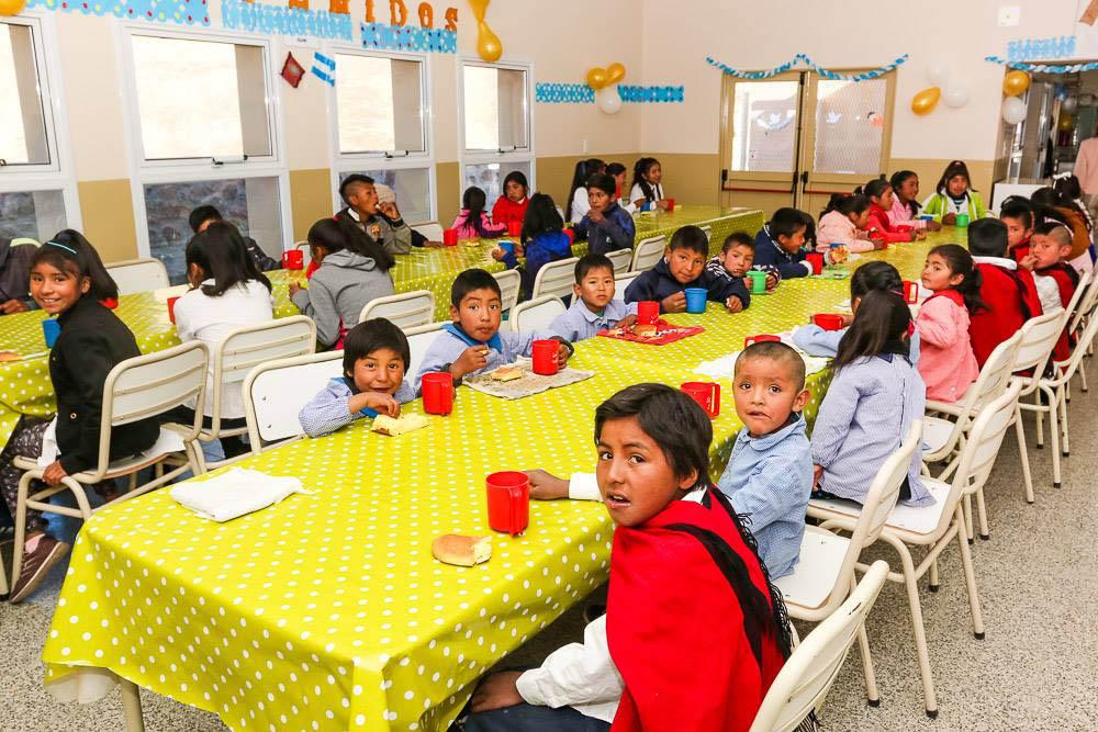 comedores en escuelas