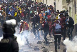 conflicto en ecuador