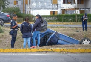 accidente en parque belgrano