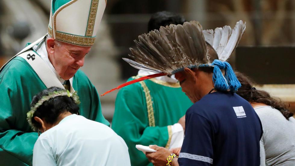 papa francisco sinodo amazonia